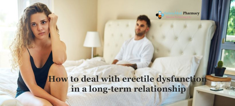 what do you deal with the shyness of your husband regarding ED?
