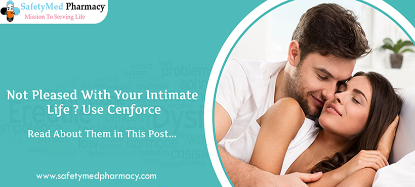 Select the popular Pills Cenforce for treat Erectile Dysfunction