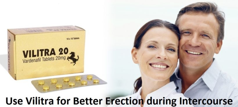 Vardenafil Present in Vilitra 20mg is a Complete Solution for ED